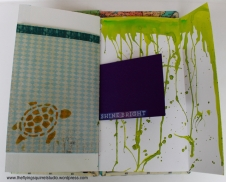 travel journal painted pages 4