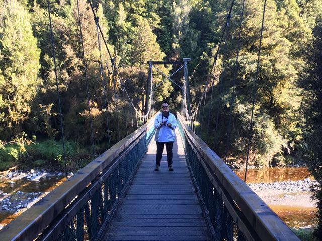 haast suspension bridge