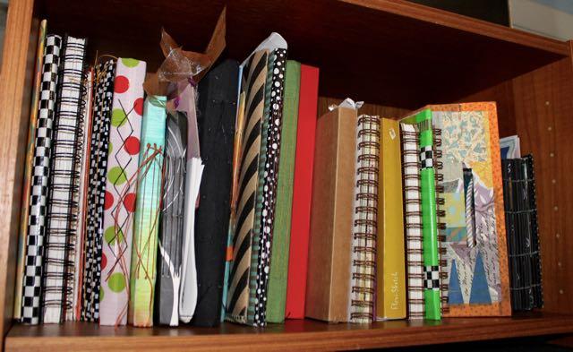 art journals organized