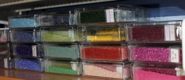 seed bead storage
