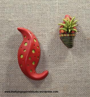 Organic Pod Pins