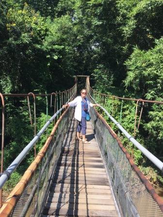 Chiang Mai - suspension bridge