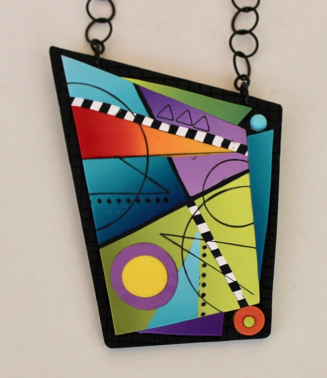 Yuhr-colorful pendant on chain 2