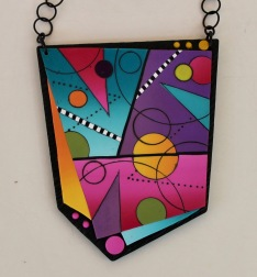 Yuhr-colorful pendant on chain 3