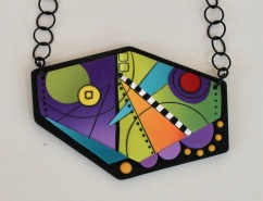 Yuhr-colorful pendant on chain 4